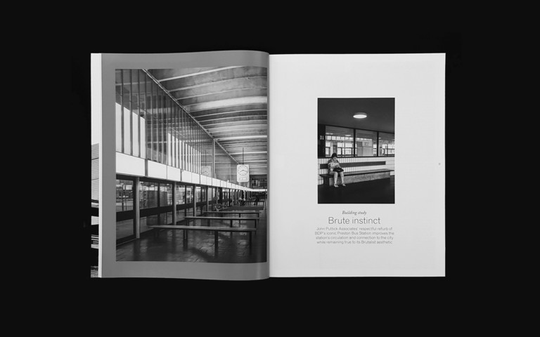 Preston Bus Station on cover of Architects' Journal